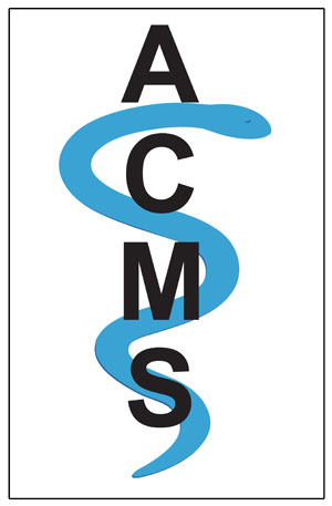 Alachua County Medical Society (ACMS) logo