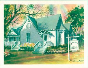 Contact ACMS - Robb House Watercolor Spring