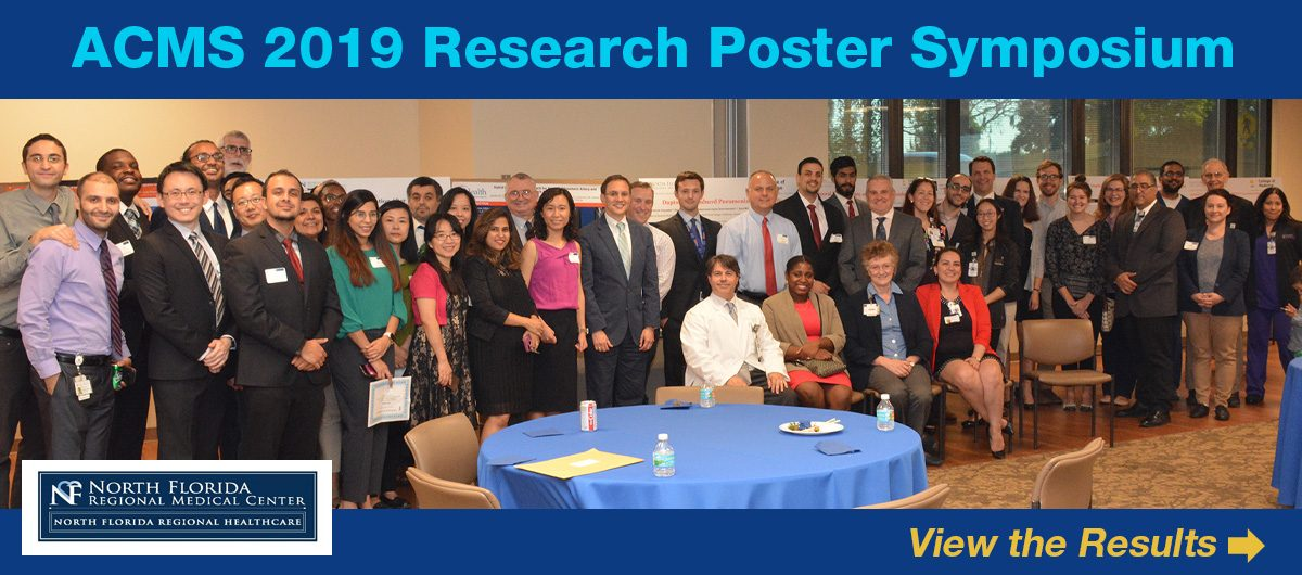 2019 Poster Research Symposium group