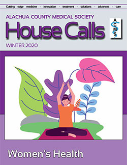Winter 2020 addition of House Calls Magazine Cover